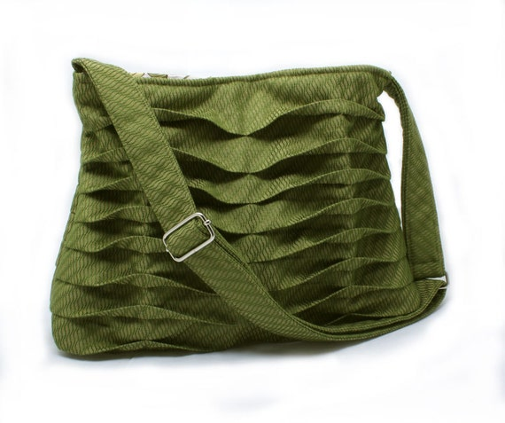 Fall Fashion Purse in Olive Green Handbag
