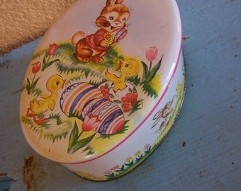 adorable daher springtime tin