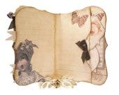 Jane Austen Journal, Pride & Prejudice, Secret Pocket, Janeite, Blank Journal, Notebook Books Art Journal, Jane Austen Gifts, Regency, Darcy