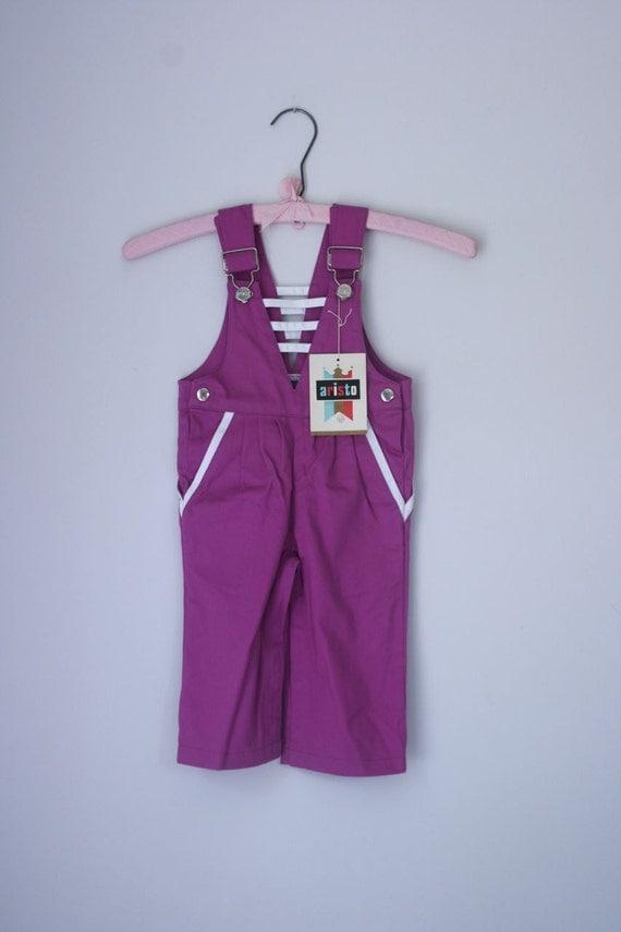 VTG purple Aristo overalls