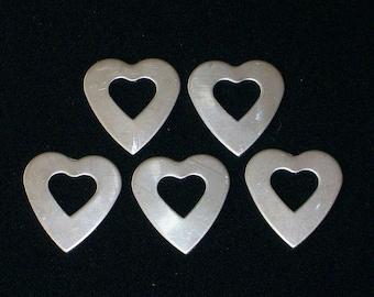 Aluminum Heart Washers