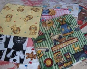 75 3  Inch Quilt Squares Assorted KIDS Prints