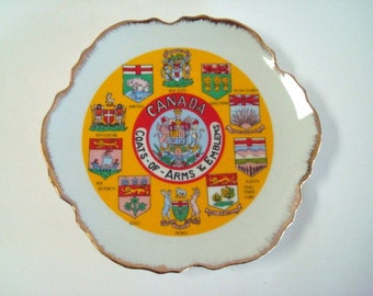 Canada Coats of Arms and Emblems Plate