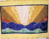 Sunrise - Quilted Wall Hanging