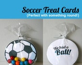 Printable Soccer Cards - We had a Ball