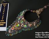 Necklace Open Sesame. BEAD DREAMS 2012 finalist