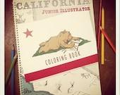California Jr. Illustrator Coloring Book