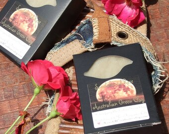 AUSTRALIAN GREEN CLAY Sandalwood Rose Soap