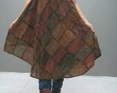 MANE patchwork dress (LIMITED EDITION) 132.3