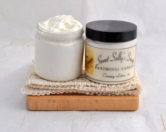 Patchouli Vanilla Creamy Lotion 4oz, Rich and Moisturizing Lotion