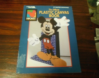 Disney Plastic Canvas Patterns The Official Plastic Canvas Book Leisure Arts 1816 Plastic Canvas Leaflet