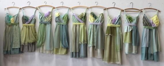 Individual Final Payments for Meredith Bazirgan's Custom Bridesmaids Dresses