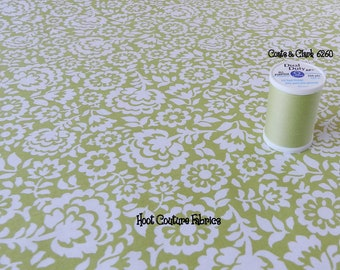Yves Citron Floral from the Bonnes Amies Collection for Michael Miller Fabrics 1/2 yard on sale