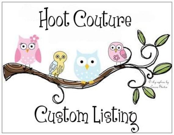 Custom listing for violetelise