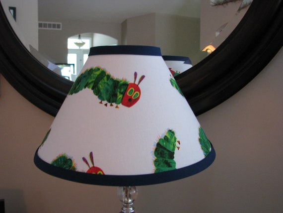 The Hungry Caterpillar lamp shade