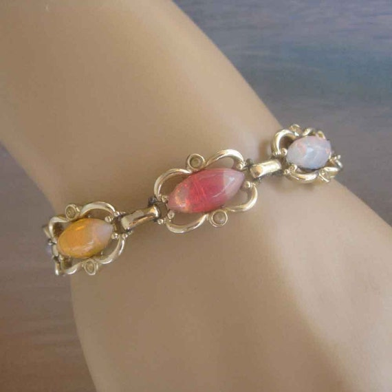 Colorful Vintage Bracelet Sarah Coventry FREE USA Shipping
