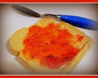 Toast Soap - with Strawberry Jelly - Toast and Jelly Soap - Handmade Scented Soap Bar - VEGAN