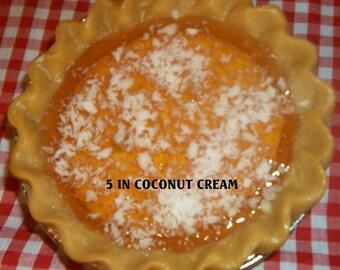 5 in Coconut Cream Pie Candle