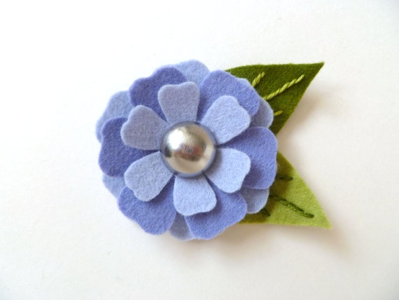 Magnetic Pin - Periwinkle Blue
