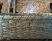 Leather Handle Kitchen Basket, Storage Basket, Bread Basket