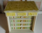 Refurbished Vintage Jewelry Box - Stripes