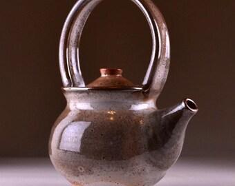 Carbon Trap Shino Stoneware Teapot