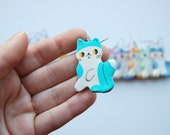 One Cute Kitten Earring (mix and match)
