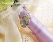 Brides Locket, Locket Bouquet Charm, Bridal Bouquet Locket, Oval Locket