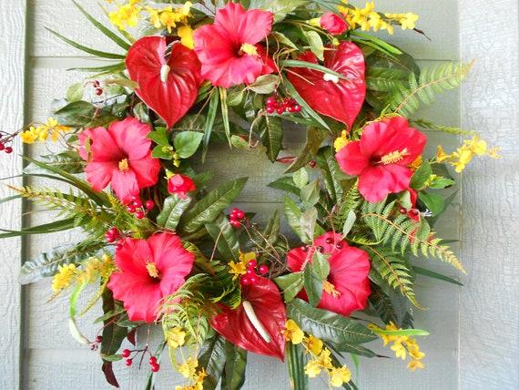 Tropical Wreath......Luau Anyone
