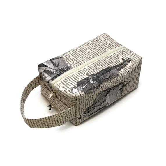 Project Bag Boxy Knitting Bag - Baker Street