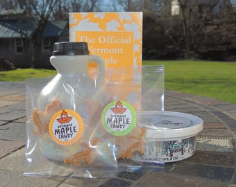 Free Shipping The Original MAPLE SAMPLER Grandma's & Grandpa's Christmas or Birthday The 100% Pure Vermont Maple Way