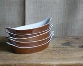 Vintage Individual Au Gratins Dishes