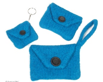 Knit and Felt Purse Set Pattern