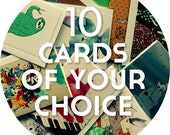 Bulk greeting cards - 10 of your choice