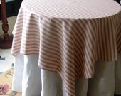 French Red--TABLECLOTH 54 inch square