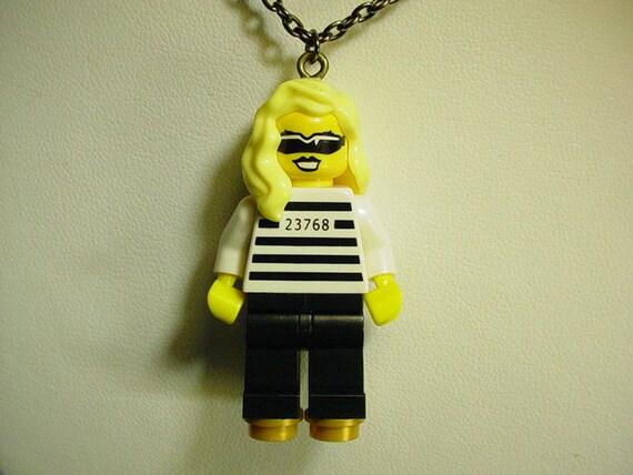Lego Lady Gaga Necklace