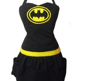 Tribute to Batman sexy apron reversible