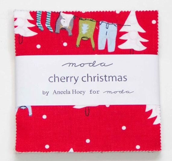 Cherry Christmas, Charm Pack