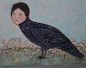 The Raven... Original Painting