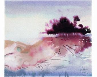 Dream, digital overlay print by Gretchen Kelly