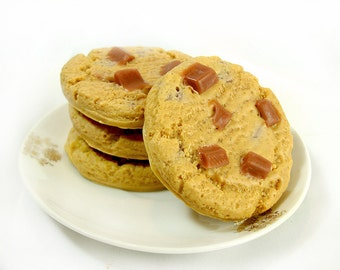Chocolate Chip Cookies - 4 Pack Goat's Milk Soaps