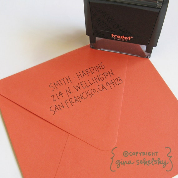 Smith Address Stamp (Self-inking)