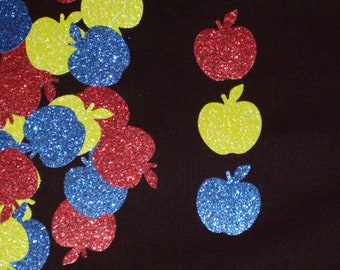 The Fairest of Them All Glittered Die Cut Apple Embellishments