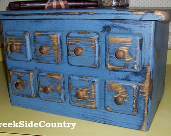 Primitive Wood  Appliance Toaster  Cover