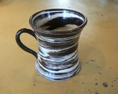 porcelain marbled cup, mug, agate ware HOLD FOR HONORA