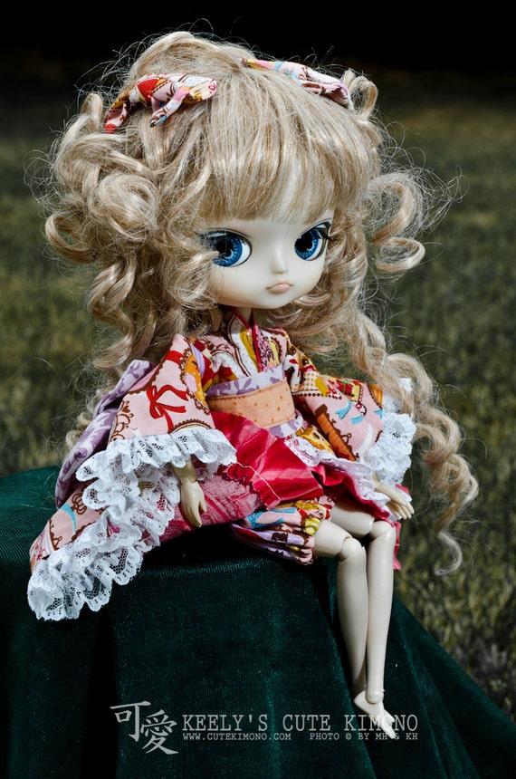 Kawaii Girls Wa-Loli Kimono for Dal (Pullip Little Sister) by Groove