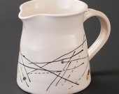 Line Decorated Pitcher