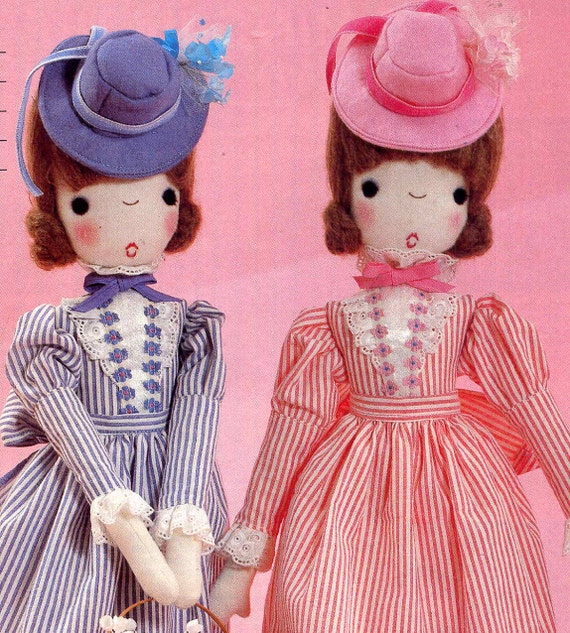 Vintage Cloth Doll Pattern 19