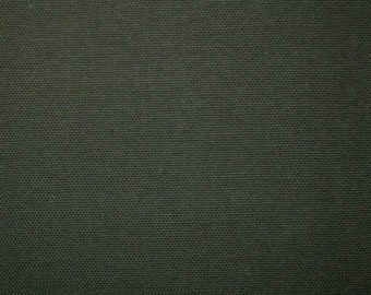 60 Inch Wide Preshrunk COTTON Canvas Duck Fabric ARMY GREEN Upholstery Apparel Crafts