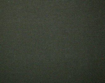 3 yards Preshrunk COTTON Canvas Duck Fabric ARMY GREEN